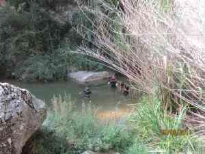 Bañarse en Pozas Naturales, Experiencias de Turismo Familiar en Valencia. Albergue El Sequer
