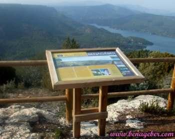 Pico Franco, Mirador y Panel Informativo